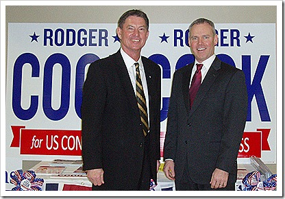 Rodger Cook with Bill Hennessy