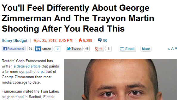 George Zimmerman Before The Trayvon Martin Shooting - Business Insider