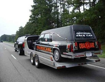 Official ObamaCare Pace Car