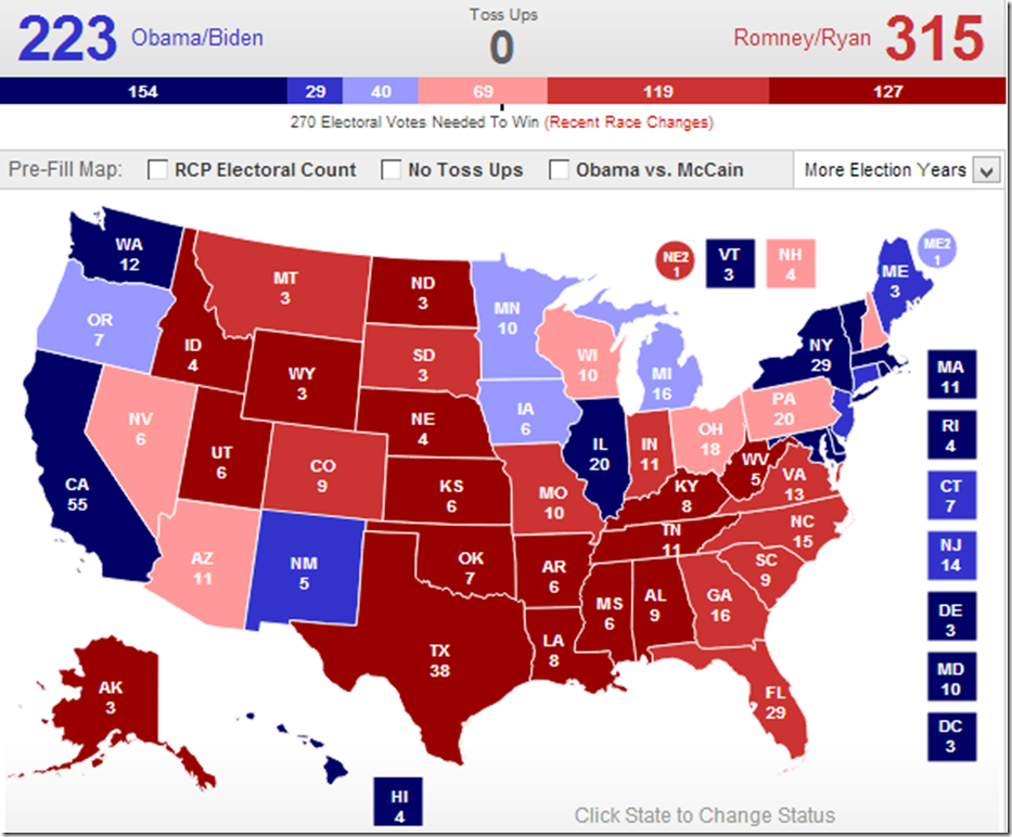 Here\'s My Electoral Map Prediction